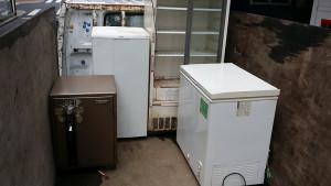 広島市中区で金庫、カウンター等回収の写真1