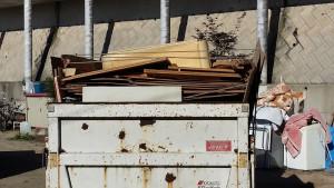 広島市で衣類、木材回収のアフター写真1