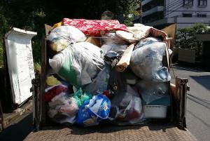 安芸郡で家財道具回収の写真1