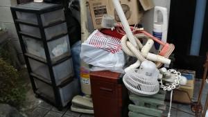安芸郡で掃除機、炊飯器など回収写真