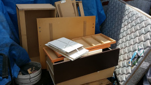 広島市中区で引越しでベッド回収のアフター写真