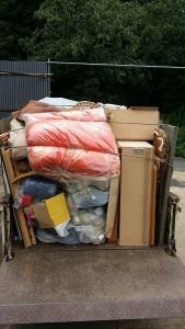 広島市南区で積み放題プランご利用の写真