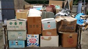 広島市安芸区で学習机、照明など回収のアフター写真