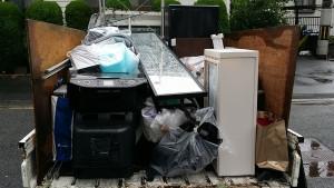広島市のアパートで積み放題プラン回収のアフター写真