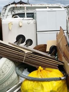 東広島市で冷蔵庫、洗濯機回収の写真