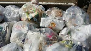 安芸郡で家庭ゴミ回収の写真