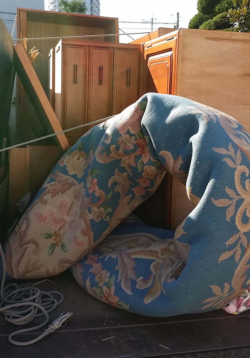 神石高原町でタンス、食器棚、本棚回収のお客様の声