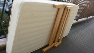 広島市西区でベッド回収の写真