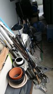 広島市中区で扇風機、電気ストーブ等回収の写真