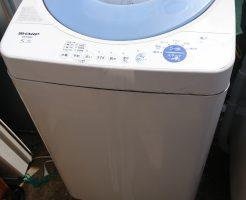 広島市南区東雲で洗濯機回収 施工事例紹介
