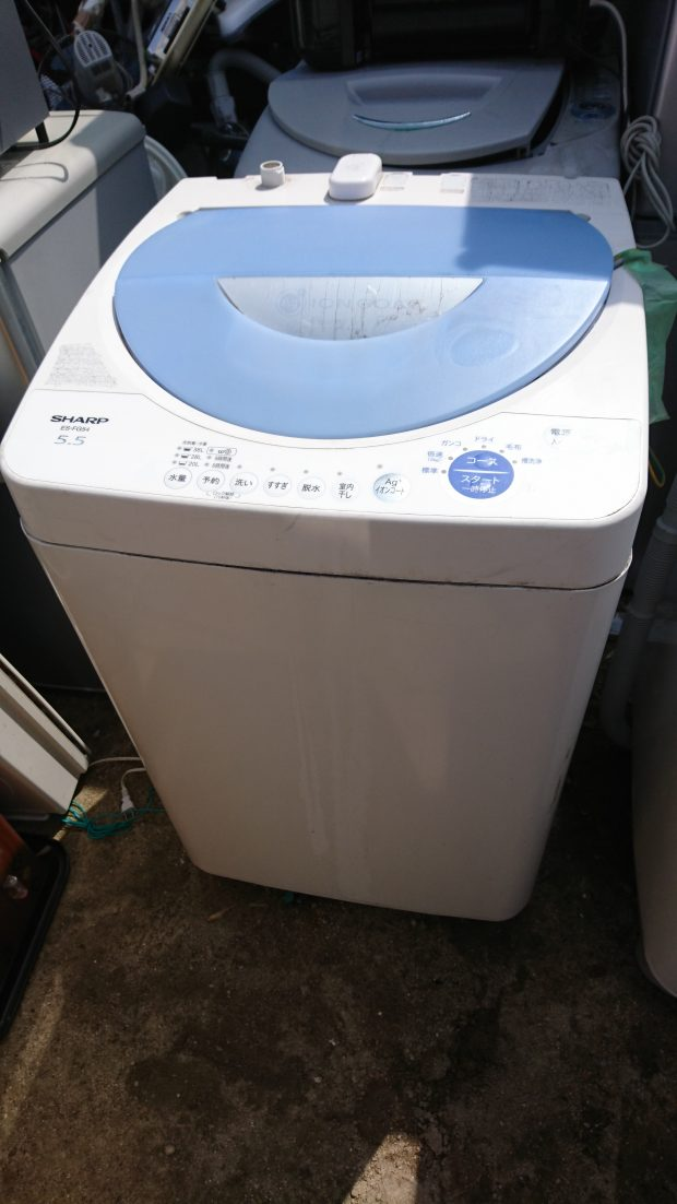洗濯機の即日回収も対応可能!面倒な事前手続き不要で捨てられた、とご満足いただけました!