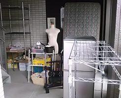 福山市王子町で冷蔵庫、マットレスなど軽トラック1台程度の不用品回収 施工事例紹介