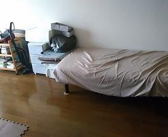 尾道市久山田町でシングルベッド、こたつなどの不用品回収 施工事例紹介