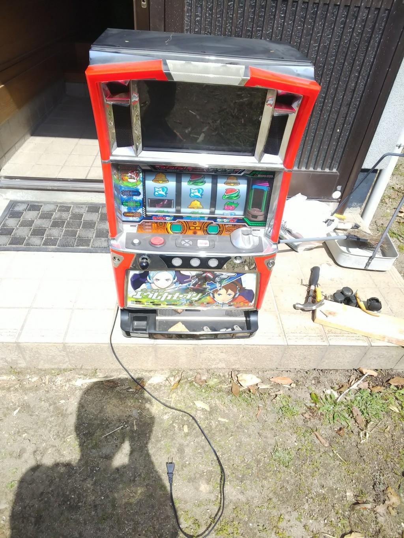 【尾道市向島町】スロット台の処分☆素早い対応にとても満足していただきました!