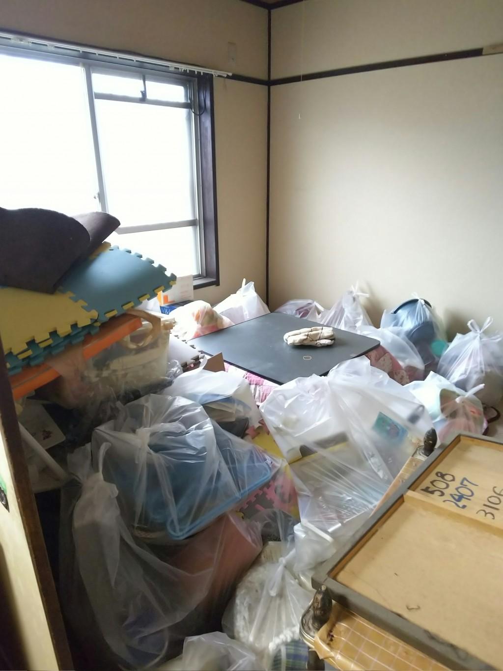 【三原市】転居に伴う不用品回収と簡易清掃☆対応も抜群でしたとお喜びいただけました!