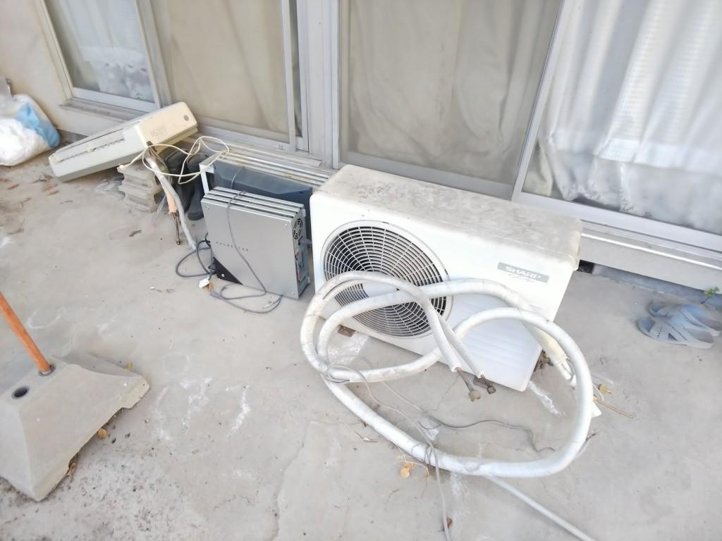 【福山市西深津町】エアコンやパソコンの回収!重い室外機も!☆安心してまかせられたとお喜びの声をいただきました!