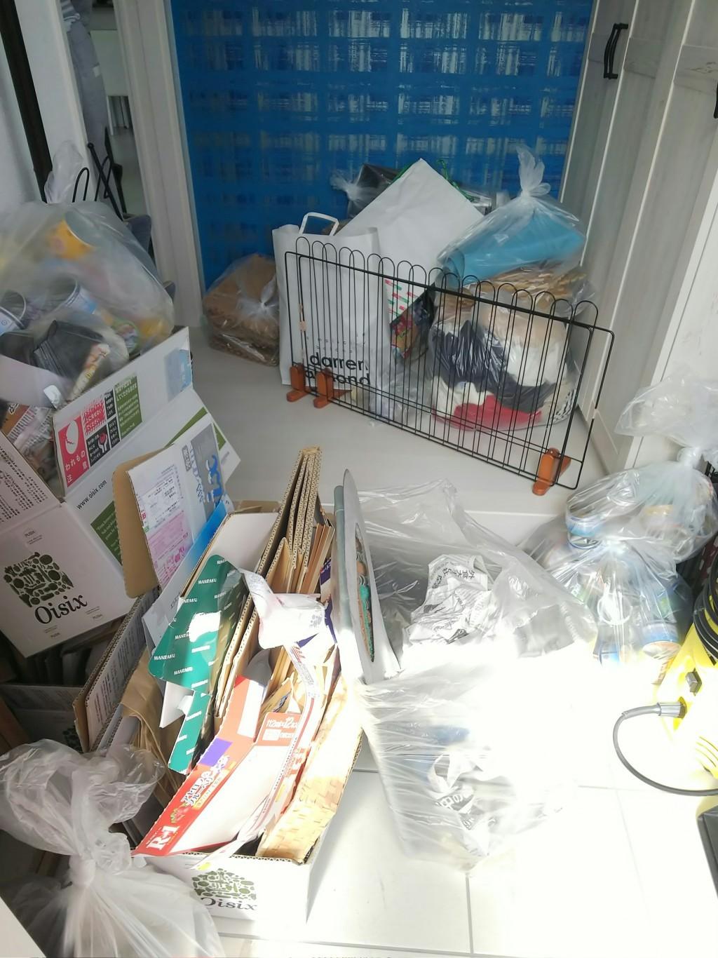 【福山市】プリンターや座椅子、可燃ごみの不用品処分 お客様の声