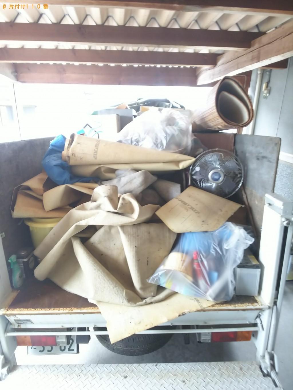 【福山市駅家町】軽トラック1台分の処分品回収 お客様の声
