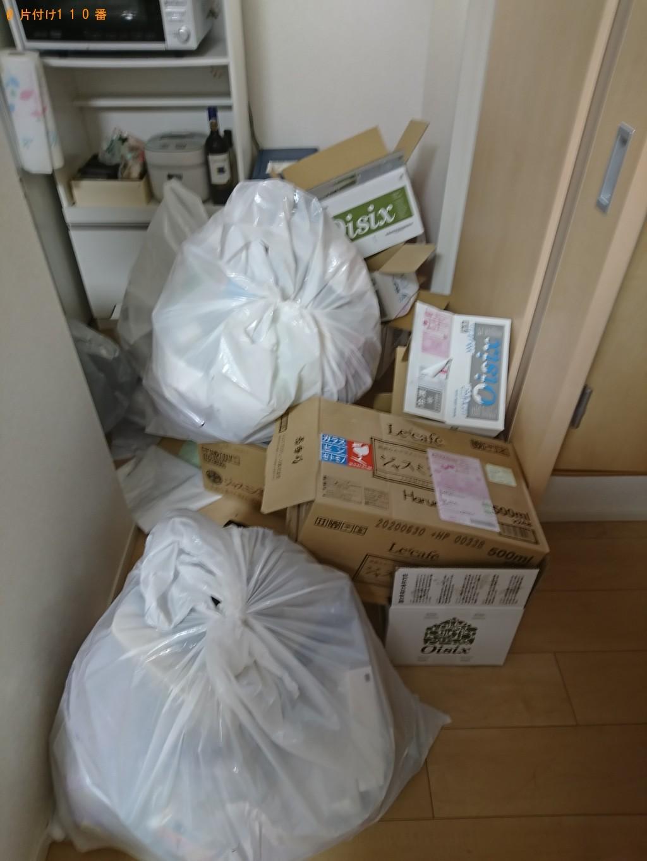 【広島市安芸区】家庭ごみの回収とハウスクリーニングのご依頼 お客様の声