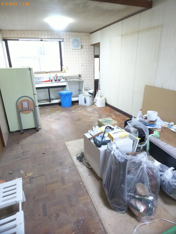 【福山市柳津町】収納棚、食器棚等の家財の回収・処分ご依頼