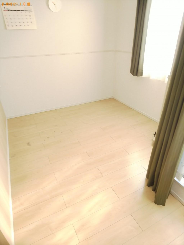 【福山市】食器棚、2人用ダイニングテーブル、ソファー等の回収