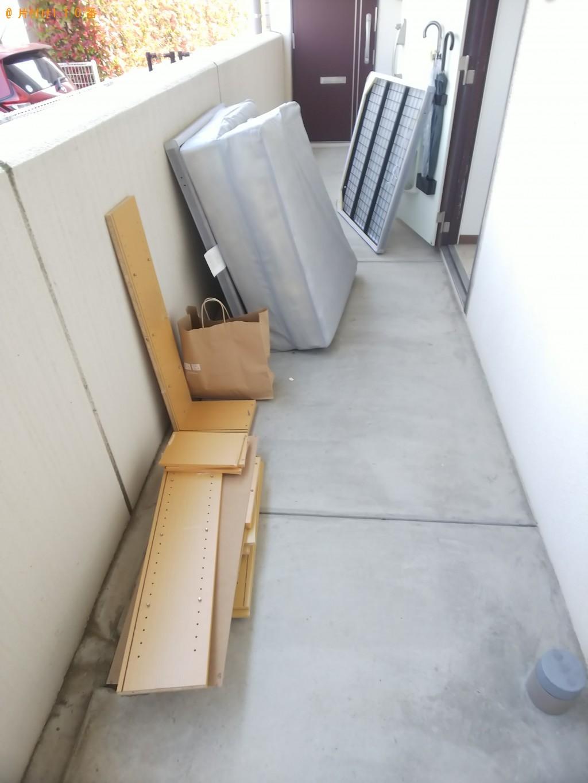 【福山市南今津町】脚付きベッドマットレスの回収・処分ご依頼