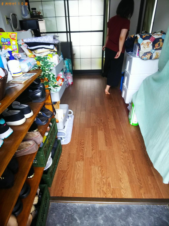 【府中市元町】シングルベッド、ベッドマットレス等の回収・処分