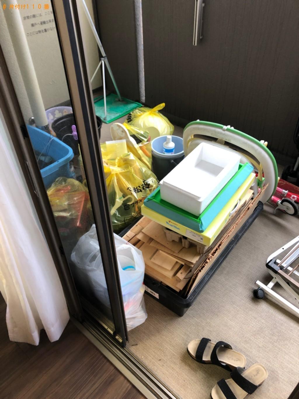 【広島市】軽トラック1台程度の出張不用品回収・処分ご依頼