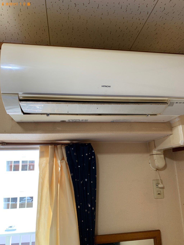 【広島市】エアコンクリーニングと一般ごみの回収・処分ご依頼