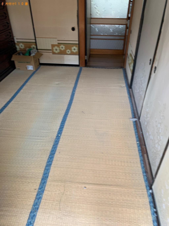 【広島市】セミダブルベッド(マットレス付)の回収・処分ご依頼