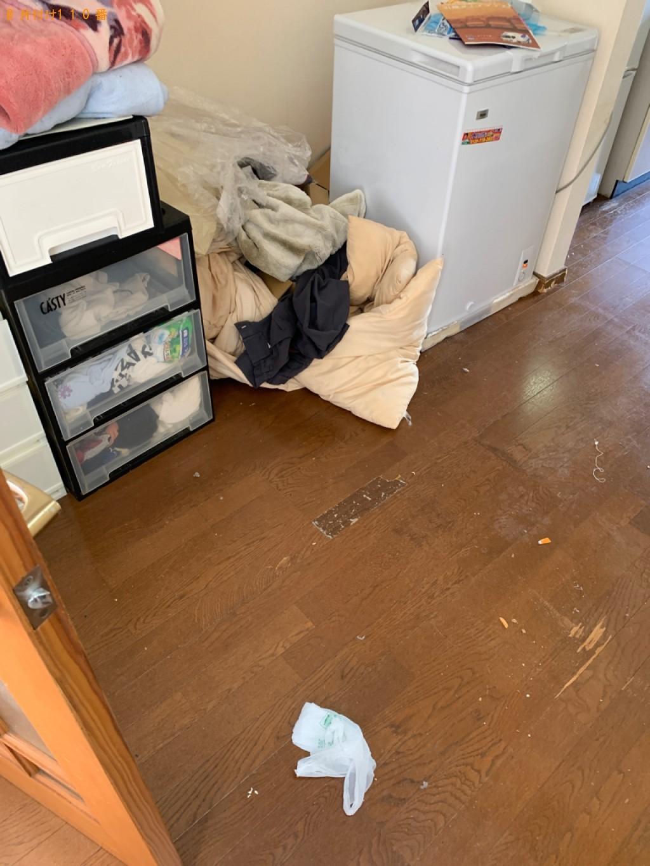 【広島市】カーペット、布団、ダンボール、ポット等の回収・処分