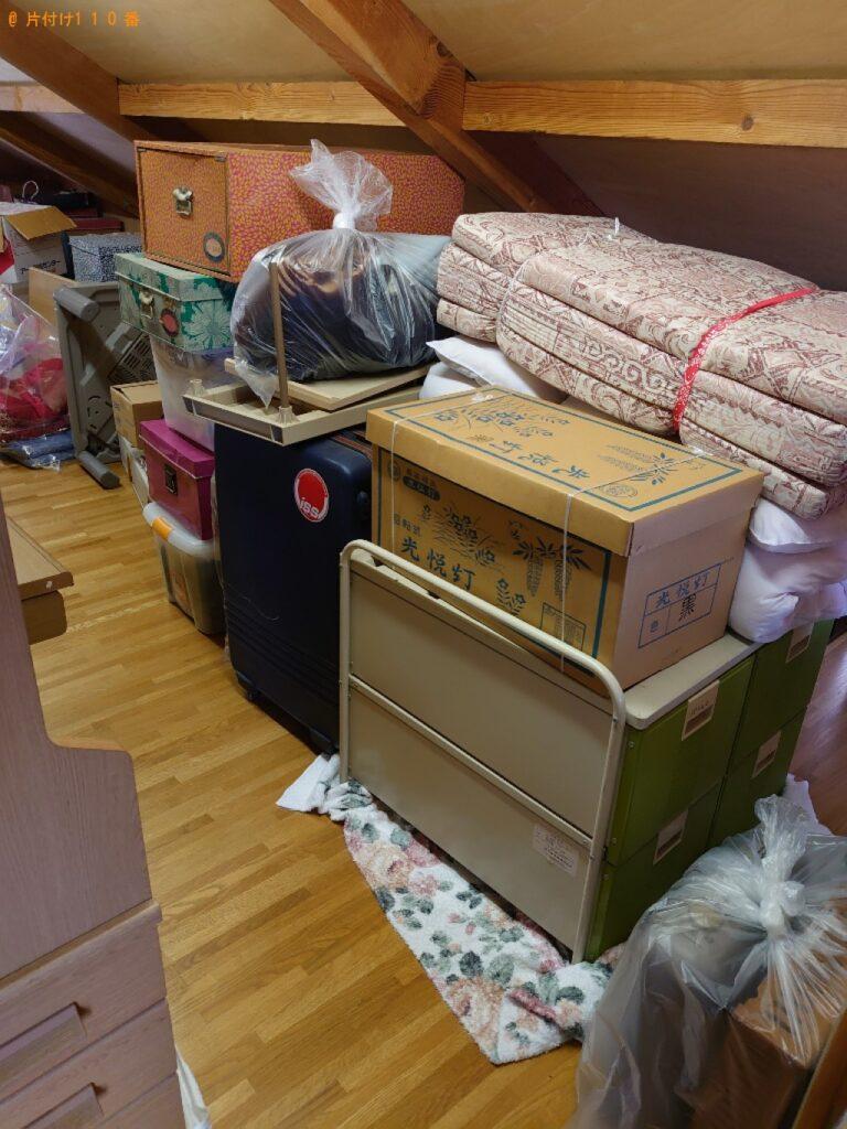 マットレス、こたつ、衣類収納ケース、本棚等の回収・処分