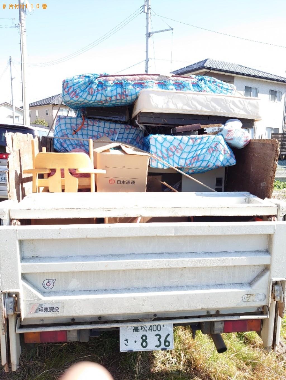【広島市】冷蔵庫、洗濯機、マットレス付きダブルベッド等の回収