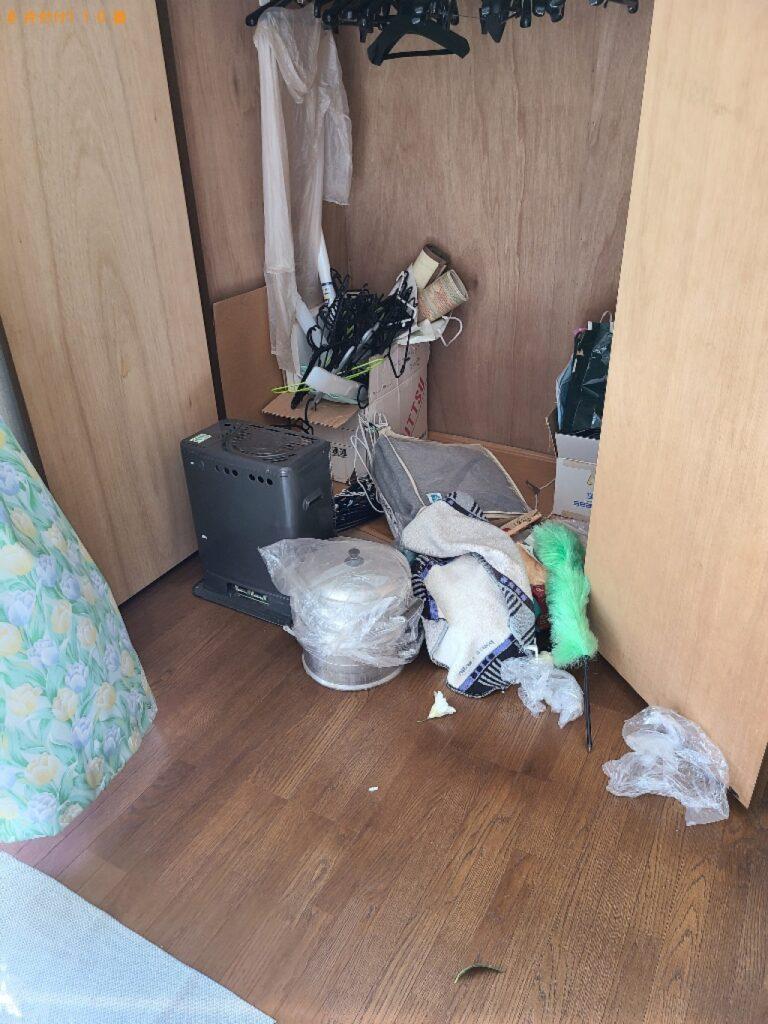 布団、マットレス、枕、ストーブ、ハンガー等の回収・処分
