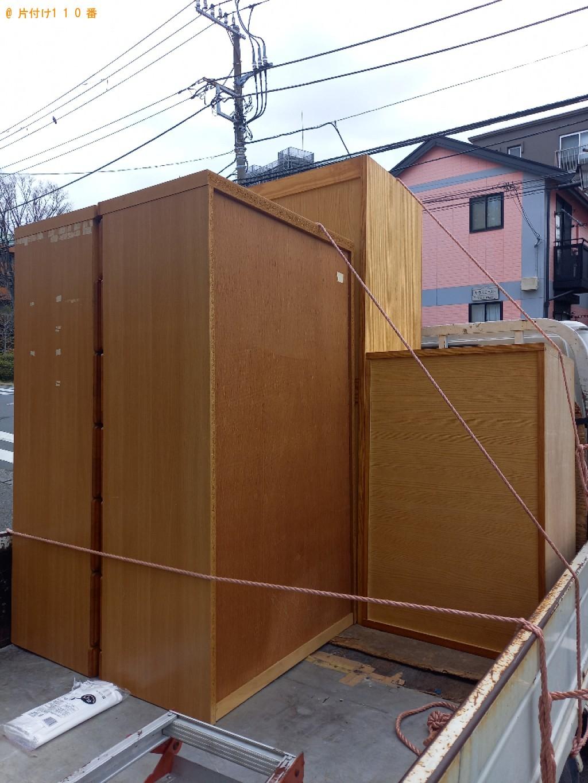 【広島市】着物タンス、整理タンスの回収・処分ご依頼 お客様の声
