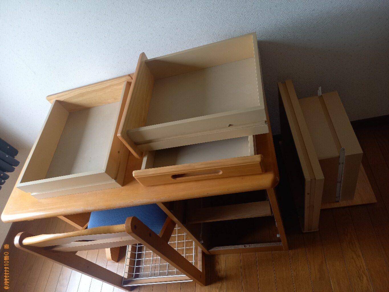 【広島市】椅子、学習机の回収・処分ご依頼 お客様の声