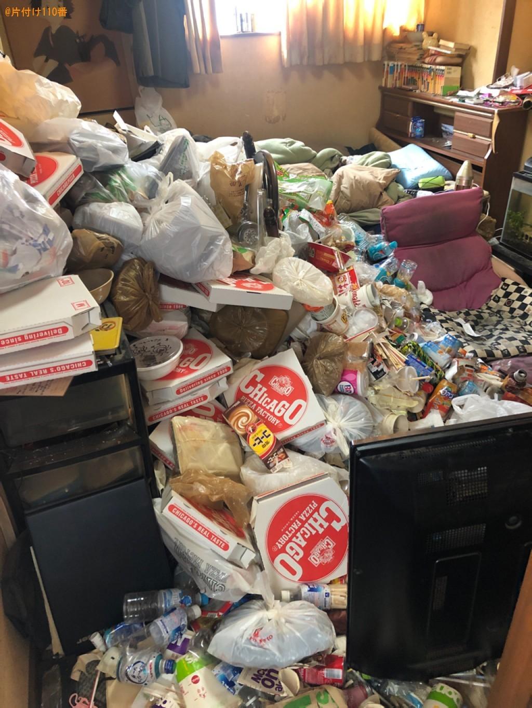 大量の一般ごみの回収・処分ご依頼 お客様の声